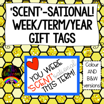 'Scent'-sational Week/Term/Year Gift Tags
