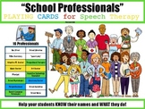 """""""School Professionals"""" Playing Cards"""