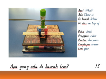 'School Tower' Indonesian Story and Questions