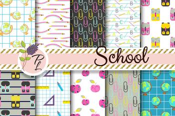 """""""School is Cool"""" Pattern Set"""