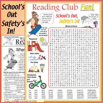 """School's Out, Safety's In"" Puzzle Set"