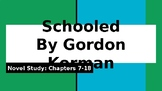 """Schooled"" By Gordon Korman Novel Guide (Chapters 7-18)"