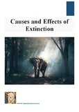 (Science / Biodiversity) Causes and Effects of Extinction - Reading Guide