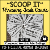 """Scoop It"" Fluency Phrasing Task Cards -- Set 7"