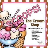Ice Cream Shop Dramatic Play