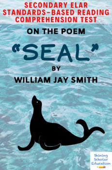 """Seal"" Poem by William Jay Smith Multiple-Choice Reading Comprehension Test"