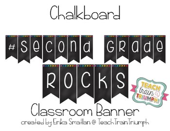 #Second Grade Rocks Banner