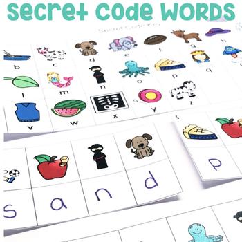 """Secret Code Words"" Center"