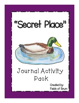 """Secret Place"" Journal Activity Pack"