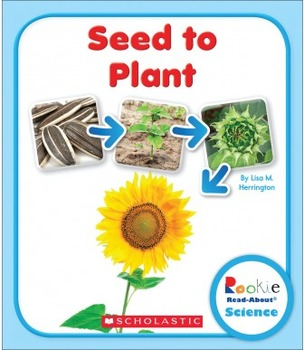 """Seed to Plant"" Guided Reading Lesson (Level J, Nonfiction)"