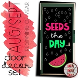 """""""Seeds the Day"""" Watermelon Door Decoration Set Testing End / Beginning of Year"""