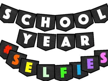 #Selfie Bulletin Board Cellphone Template