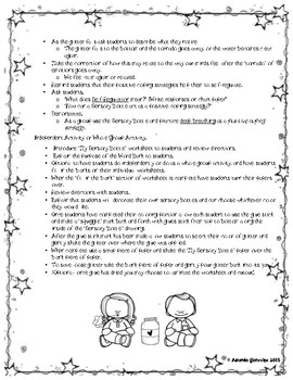 """Sensory Bottle"" Lesson Plan and Activity"