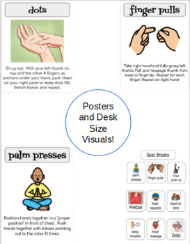 *~* Sensory Regulation Seat Strategies VISUALS *~*