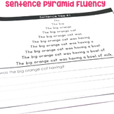 """Sentence Pyramid Fluency"" Center"