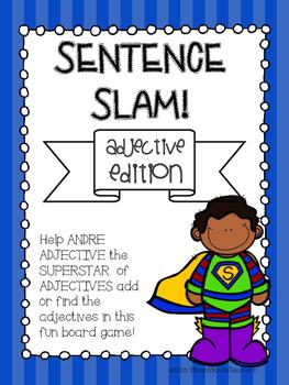 {{Sentence Slam Board Game! Adjective Edition}}
