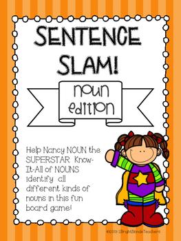 {{Sentence Slam Board Game! Noun Edition}}