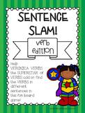{{Sentence Slam Board Game! Verb Edition}}