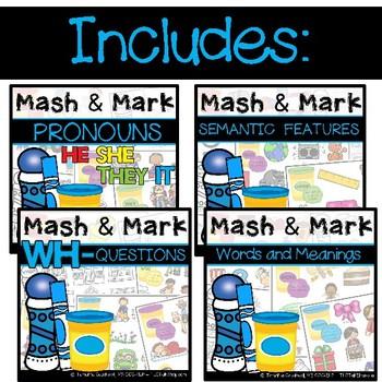 BUNDLED: Language Mash & Mark