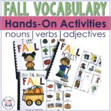 Fall Interactive Vocabulary Activities