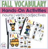Fall Interactive Vocabulary Activities
