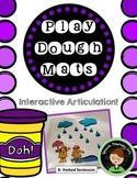 Dough Articulation Mats for Speech Therapy - R Sound