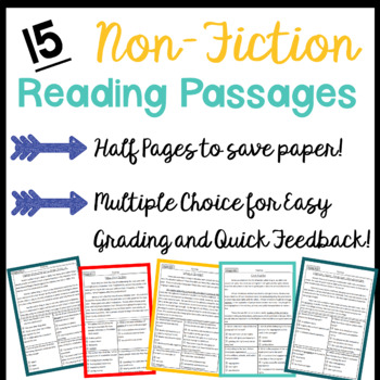 September Non-Fiction Reading Passages with Multiple Choice