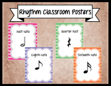 *Set of 8* Rhythm Symbol Classroom Posters