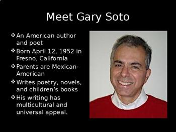 """Seventh Grade"" by Gary Soto Unit Bundle"