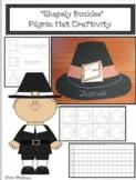 """Pilgrim Activities: """"Shapely Buckles"""" A Pilgrim Hat 2D Shape Craft & Booklet"""