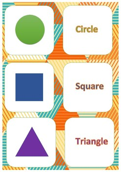 """Shapes"" Matching Game"