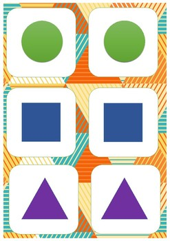 """Shapes"" Memory Game"