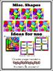 """""""Shapes"""" Square Background Kit"""