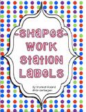 Workstation Labels