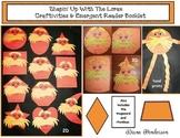 """Shapin' Up With Seuss!"" Lorax 2D & 3D Shape Craft, Games & Emergent Reader"
