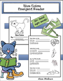 "Cool Cat ""Shoe Colors"" Emergent Reader"