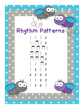 """""""Shoo Fly"""" Rhythms with Quarter Note Rests"""