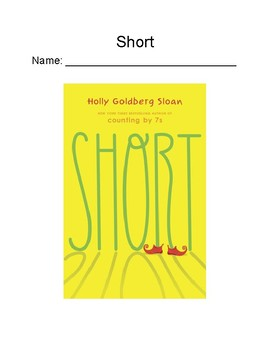"""""""Short""""-Holly Goldberg Sloan- Chapter-by-Chapter Reading Comprehension Questions"""