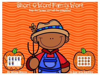{Short O} Farmer Word Family Pack