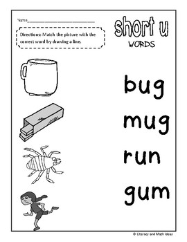 (Short Vowels) CVC Word Work (A Full Month)