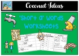 'Short a' worksheets.