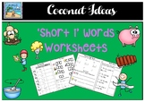 'Short i' worksheets.