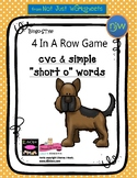 CVC Short Vowel Oo simple word Bingo-style Four In a Row Game