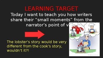 """Show, Don't Tell"" PowerPoint Writing Lesson"