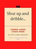 "Black Lives Matter: ""Shut up and dribble"" Instagram Post by LeBron James"