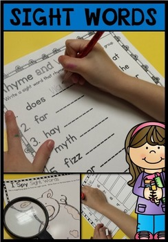 * Sight Words Fry's