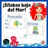 ¡Sílabas Bajo del Mar! Interactivo / Syllables Under the Sea Interactive!
