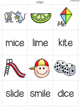 {Silent e Match It} Word Work [Reading] Station Literacy Center Memory Game