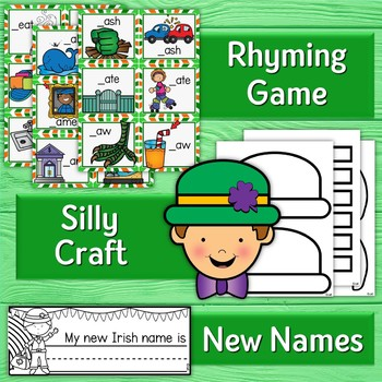 """Silly"" Leprechaun in the Classroom - Activities, Craft, Snacks, and Book Study"