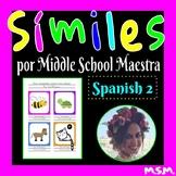 ¡Símiles! Get creative with grammar!